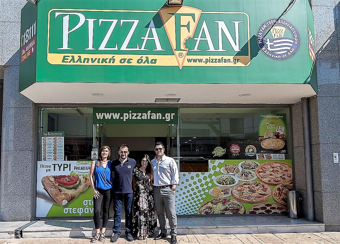 """""""Το μοντέλο της PIZZA FAN είναι σίγουρο, δοκιμασμένο και επιτυχημένο"""""""